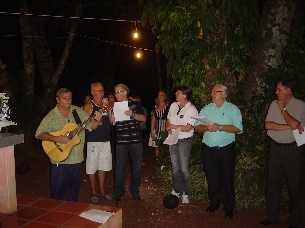 Caubi e Ivan - cantaram/tocaram Balada nº 7 e o hino do Botafogo. acompanhados pelo autor Arduino