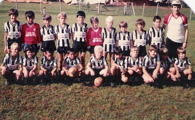 Escolinha década de 1980
