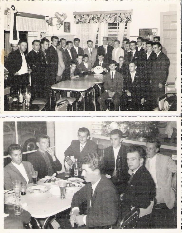Aniversário do Botafogo - Bar Alasca - 16.03.1961