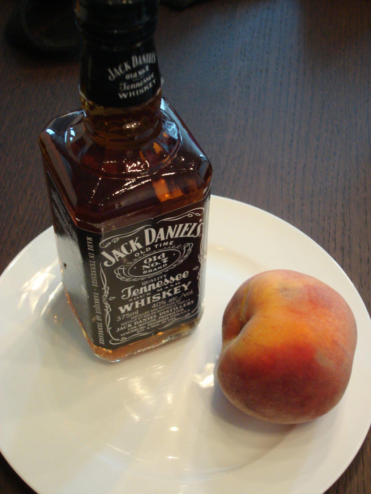 Peach meet Jack Daniel\'s! Jack Daniel\'s, this is Peach! Peach and ...