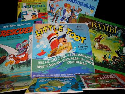 Various Disneyland Records