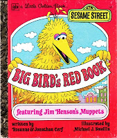 Little Golden Book Big Bird's Red Book