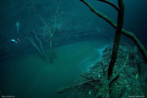 sungai di bawah laut