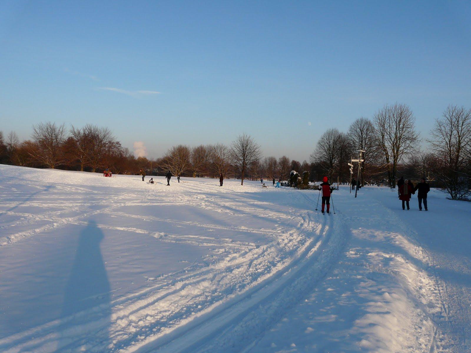 Physiotherapie und Ergotherapie: Winter in Berlin
