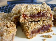 Cherry Oatmeal Crunch Squares