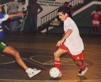 GUTO, o maior artilheiro do futsal da Baixada/1999