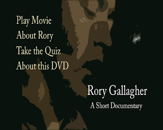 Rory Gallagher - A Documentary Short  Psmenu