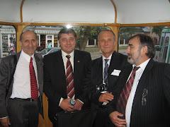 Prietenii de la Chisinau: V. Dulgheru, V. Dorogan, V. Podborschi, I. Manole (de la stg. spre dr.)