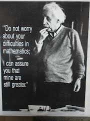 Pana si Einstein avea probleme cu matematica!...