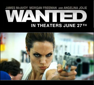wanted starring angelina jolie