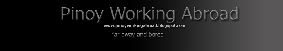 Pinoy Working Abroad