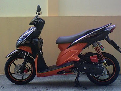 HONDA CLICK STREET RACING MODIFICATION