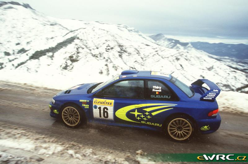 autoart cruiser this is a real subaru impreza 22b rally car 1998 to 2000. Black Bedroom Furniture Sets. Home Design Ideas
