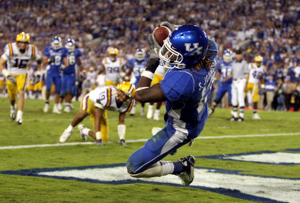 kentucky football the thrill of victory and the agony of