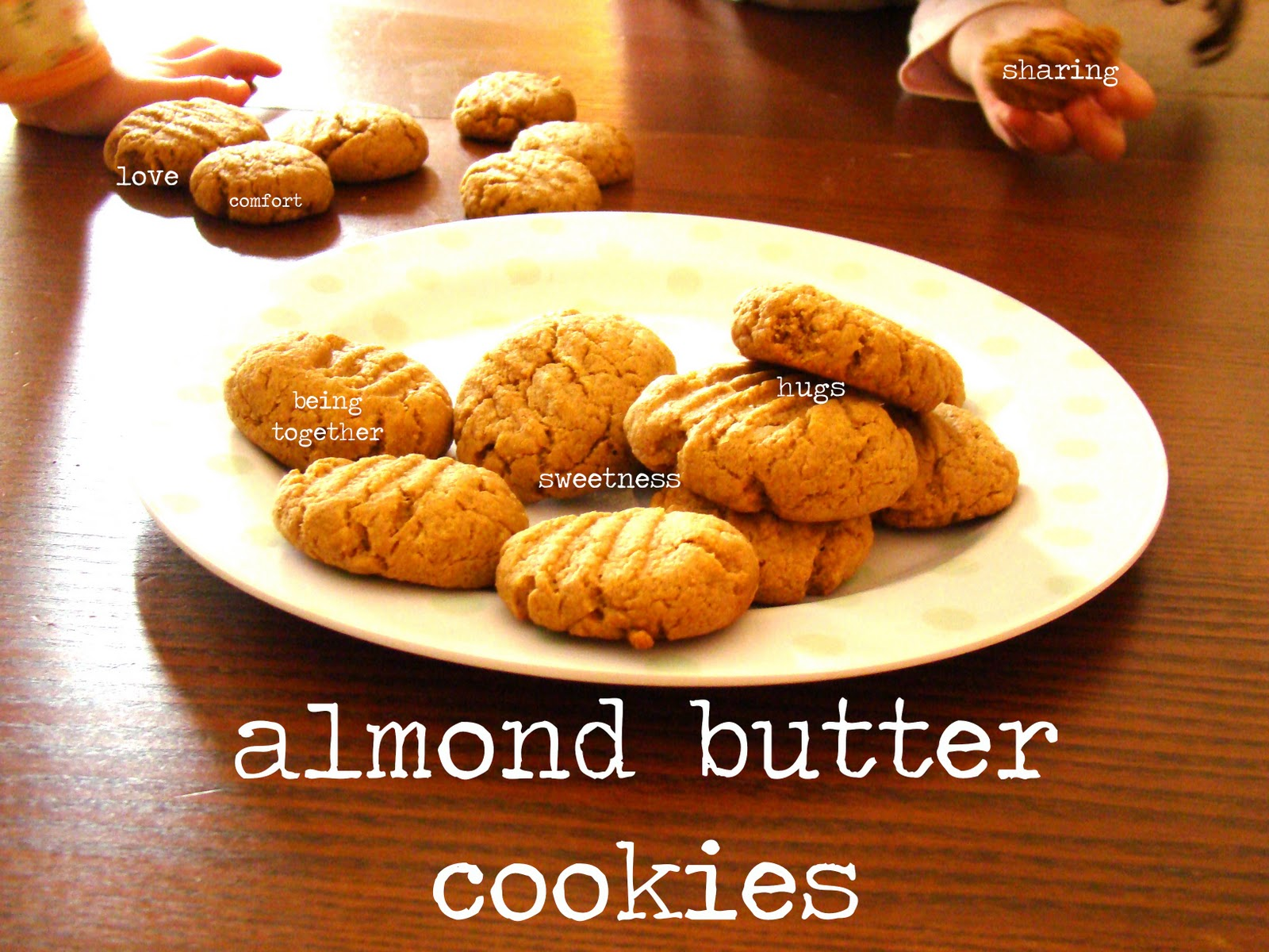 Salsa Pie: Whole Wheat Almond Butter Cookies