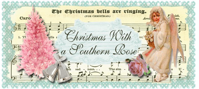 Christmas with a southern rose