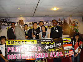 President Distinguish Club Award