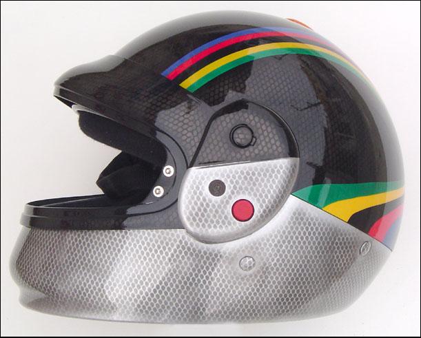capacete kart