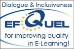 I am EFQUEL member - European Foundation for Quality in E-Learning!
