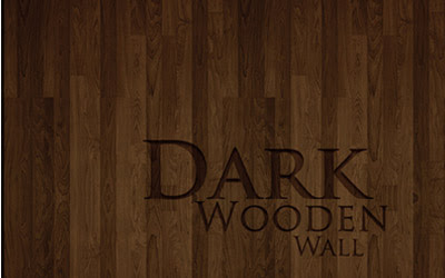 Dark Wooden Wallpaper Set