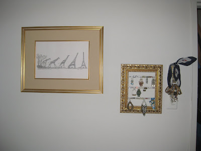 Giraffe  Eiffel Tower Picture on And So The Gallery Wall Begins