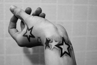 yıldız dövme modelleri