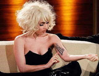 Lady Gaga dövmeleri,tattoos