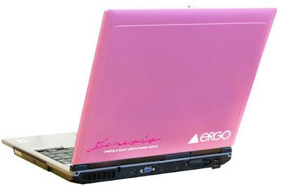 Pink Laptop: Ergo Ensis 211