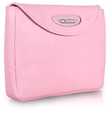 skooba pink laptop sleeve