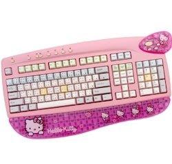 pink hello kitty keyboard