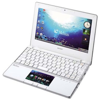 Sharp Mebius PC-NJ70A netbook