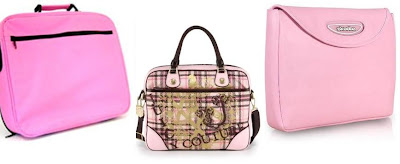 pink laptop cases