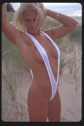 One Piece Slingshot Thong Bikini