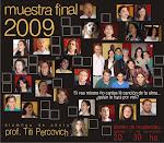 AFICHE MUESTRA FINAL 2009