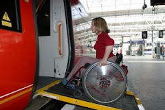 WHEELCHAIR ACCESS TO TRAINS