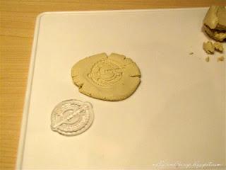 МК имитация сургучной печати из глины Zalin.ru