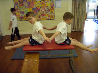 In gymnastics what is a counter balance - answers.com