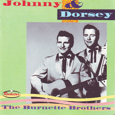 "Cover Album of JOHNNY & DORSEY ""THE BURNETTE BROTHERS"""