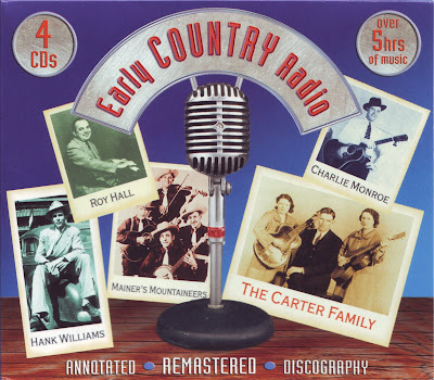 """Cover Album of EARLY COUNTRY RADIO """"VOLUME 1"""""""