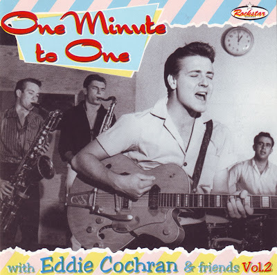 "Cover Album of EDDIE COCHRAN ""ONE MINUTE TO ONE"""