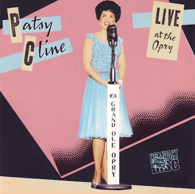 "Cover Album of PATSY CLINE ""LIVE AT THE OPRY"""