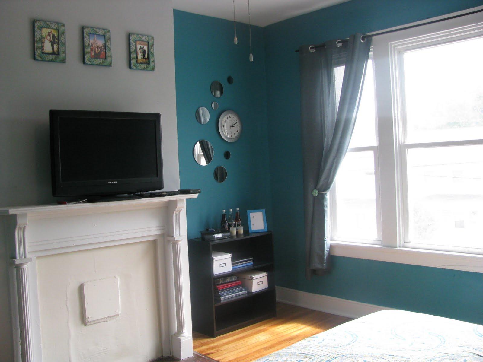 Bedroom makeover on Pinterest