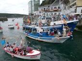 Foto de la fiesta del Rosario en Luarca
