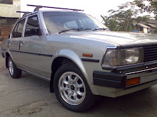 Corolla DX 82 silver original painted