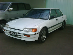 Honda Civic LX 88 Super White