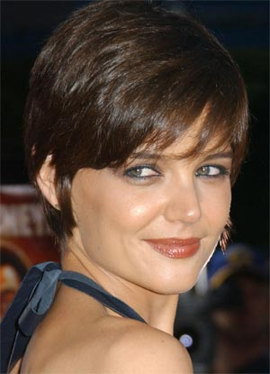 pictures of katie holmes hairstyles. Katie Holmes Short
