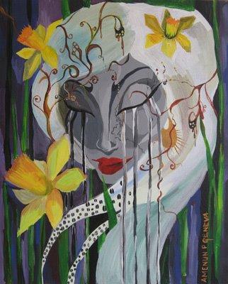 Daffodil 35 x 45 cm