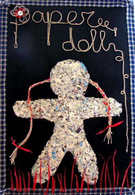 Paper Doll 100 x 70 cm