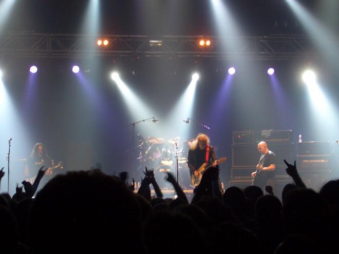 Reunión de la formación original de Barón Rojo. Coliseum de La Coruña, 6 de marzo de 2010