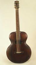 Guitarra acústica Gibson Archtop de 1898: